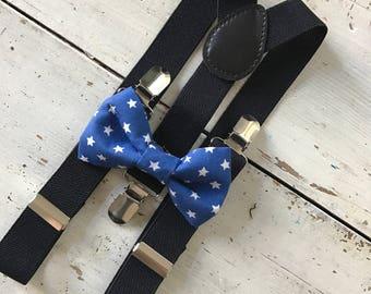 Boy Bow Tie - Blue Bow Tie-Boy Bowtie- Baby Bow Tie- Boy Bowties-Blush Bow Tie -Blush Bow Tie- Blush Bow Tie -Blu
