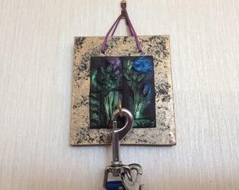 Scottish gift- Key hanger - Mosaic keyhook