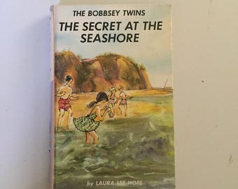 The Bobbsey Twins: The Secret At The Seashore (1962, Hardcover)