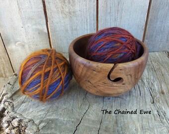 Walnut Yarn Bowl