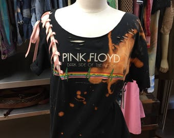 Distressed Pink Floyd Shirt
