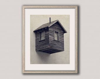 Digital download | ROOM FOR RENT | surreal art print | modern urban art print | architectural photo | street photography | instant download