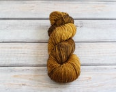 Merino Single by Skeinny Dipping in colorway Brown Butter