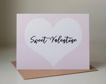 Sweet valentine card  Etsy