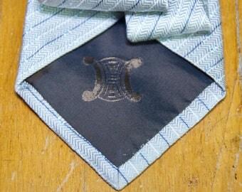 Vintage Celine Silk Tie