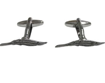 Author Quill Feather Cufflinks