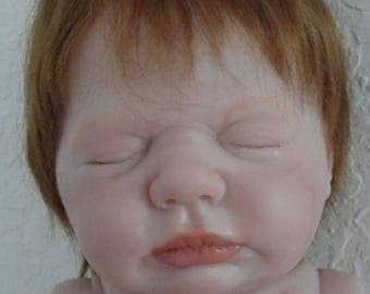 "Reborn Sleeping 20"" Baby Boy w. Anatomically Correct torso- ""Harper"""