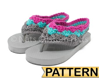 CROCHET PATTERN All Sizes Included - Beach Edition