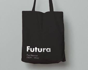 Graphic Design Tote Bag (Futura)