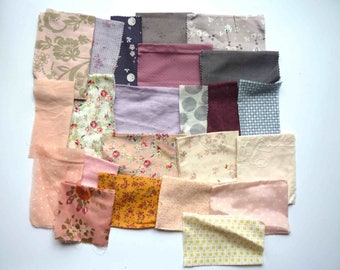 set of fabrics for patchwork 231 coupons