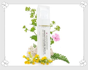 BRIGHT COMPLEXION Skin Brightening Dark Spot Corrector SERUM Powerful Plant Extracts and Niacinamide B3 Organic