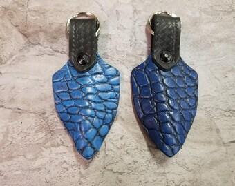Dragon Scale Keychain Zipper Pull Key Chain