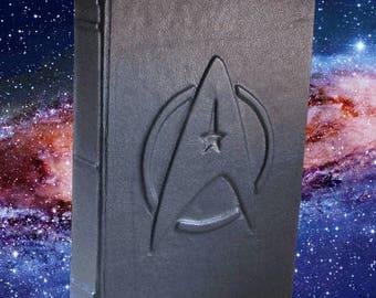 Star Trek Federation - Black Leather Journal or Sketchbook