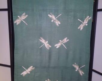 Dragonfly Scarf/Shawl (green)