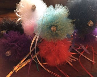 LED Tulle Wands