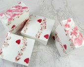 BLISS glycerin soap/vegan soap/soap bars/bar soap/handmade soap/specialty soap/natural soap/luxury soap/glycerin bar soap/heart soap