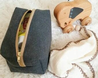 ON SALE Dopp bag; diaper carrier; storage bag; organizer