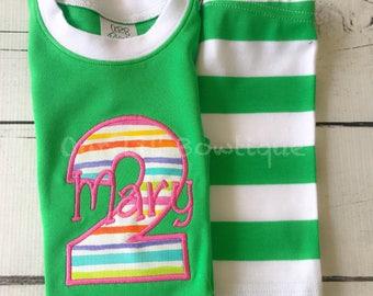 Birthday Pajamas Shirt - Personalized PJs - Personalized Birthday Pajamas  - Movie Birthday - Donut Birthday - Pancake Birthday - Pajamas