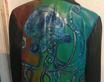 Glitter octopus