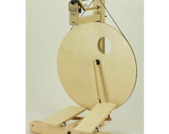 Spinning Wheel - Double Treadle Louet S10 -Castle Style Treadle - Birch