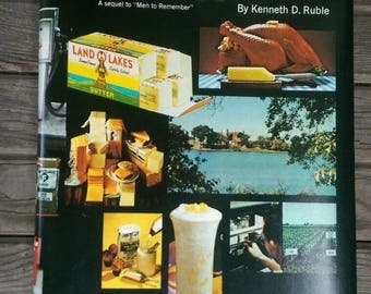 1973 Copyright Land O' Lakes Farmers Make it Happen Book by Kenneth D. Ruble