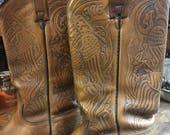 Vintage Acme 1776 Eagle Ladies Boots sz 5