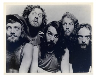 Jethro Tull Publicity Photo 8 by 10 Inches (1971)