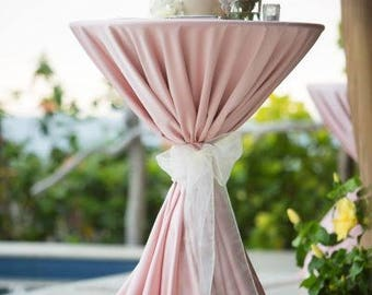 Pink Tablecloths, FREE 1DAY SHIP Overlays, Pink Wedding, Baby Shower, Bridal Shower, Pastel Pink, Fathers Day, Sweet 16, Derby, Quinceaneras