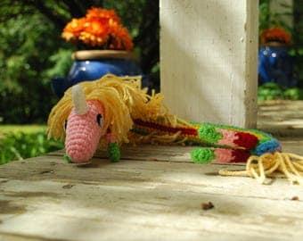 Crochet Lady Rainicorn