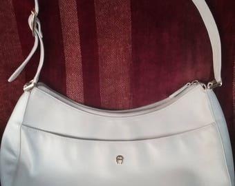 Etienne Aigner Bone Shoulder Bag/  Handbag