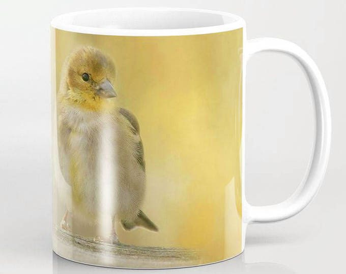 American Goldfinch, Ceramic Mug, Coffee Mug, Bird Photograpy, Photo Mug