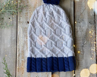 Tundra Hat Knitting Kit 12 Days of Winter