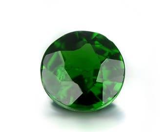 0.31ct Chrome Green Tourmaline 4.4mm Round Shape Loose Gemstones (Watch Video) SKU 609C006