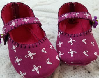 Pink Mary Jane Baby Girl Shoes