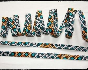 Wax Ankara fabric African 20mm