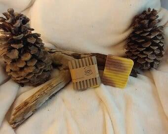 Tangerine Vanilla vegan handmade soap
