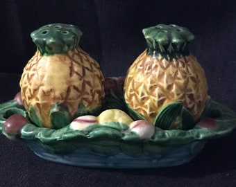 Vintage Salt and Pepper Shakers Pineapples Vintage Pineapples