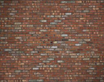 Old Town Brick - Exclusive - Vinyl Photography Backdrop Floordrop Prop