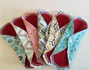 Cloth Pads, Mama Pads, Organic, Cloth Menstrual Pads, Reusable Pads, Reusable Cloth Pads, Organic Menstrual Pads, Reusable Menstrual, Pads