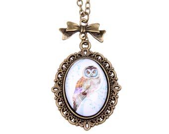 Owl Necklace, 1825C