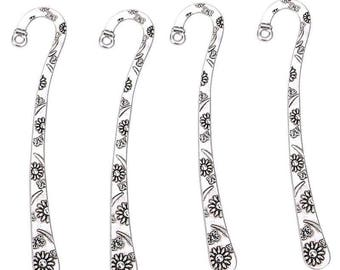 Bookmarks, bookmark, Tibetan silver, Long 80 mm ref: MP01A