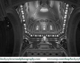 The Basilica of St. Mary, Minneapolis,  Fine Art Photo Print