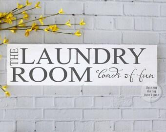 Laundry Room Sign | Farmhouse Laundry Sign | laundry room wall art | laundry sign | laundry decor | laundry wall sign | home decor laundry