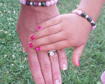 Mother-Daughter-Children's Bracelet Mommy and Me Back to school First Day of School
