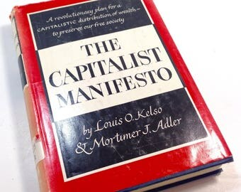 The Capitalist Manifesto, Kelso and Adler, Economics, Vintage Book