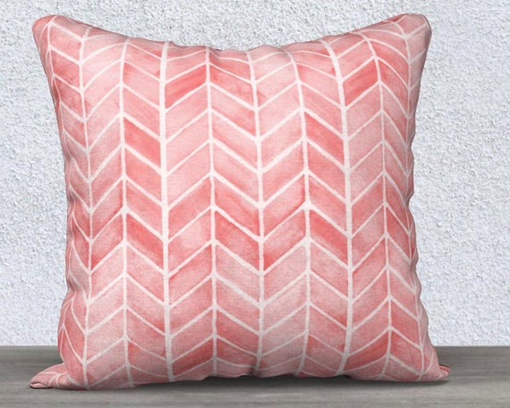 Blush Arrow Pillow Cover, 14x20, 18x18