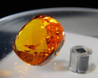 Golden Orange Citrine