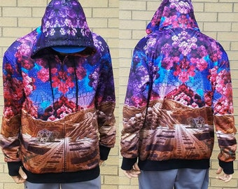Reversible Hoodie - Valley of Shadow