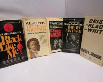 This is an African American Book Lot of 5