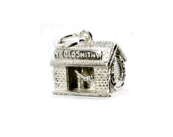 Sterling Silver Moving Blacksmith Charm For Bracelets